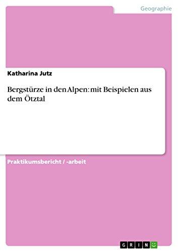 Bergsturze in Den Alpen: Katharina Jutz
