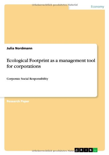 9783656339670: Ecological Footprint as a management tool for corporations