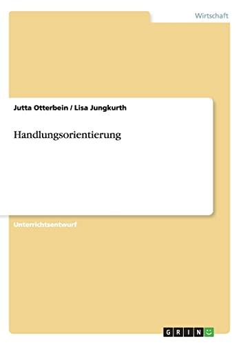 9783656363262: Handlungsorientierung (German Edition)