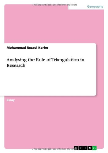 9783656368342: Analysing the Role of Triangulation in Research