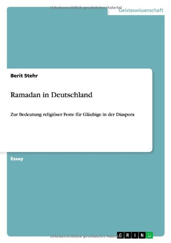 Ramadan in Deutschland: Stehr, Berit
