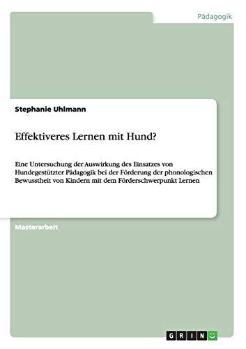 9783656415886: Effektiveres Lernen mit Hund? (German Edition)