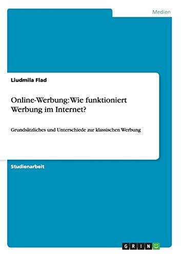 9783656417026: Online-Werbung: Wie funktioniert Werbung im Internet? (German Edition)
