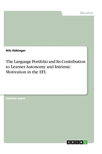 The Language Portfolio and Its Contribution to: Hbinger, Nils
