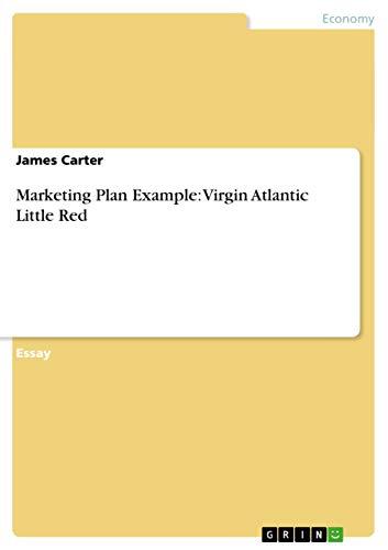 9783656424192: Marketing Plan Example: Virgin Atlantic Little Red