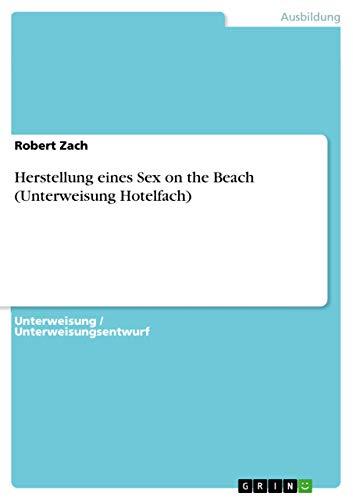 9783656424338: Herstellung eines Sex on the Beach (Unterweisung Hotelfach)