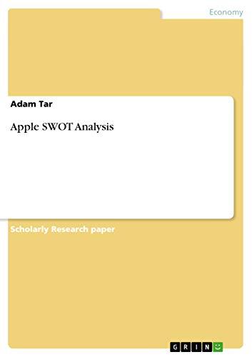 9783656445753: Apple SWOT Analysis