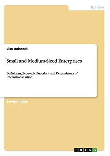 Small and Medium-Sized Enterprises: Lisa Hohneck