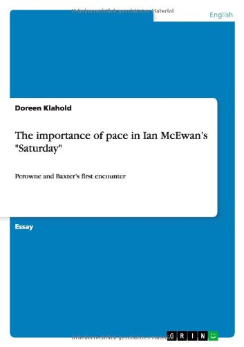 The Importance of Pace in Ian McEwans Saturday: Doreen Klahold