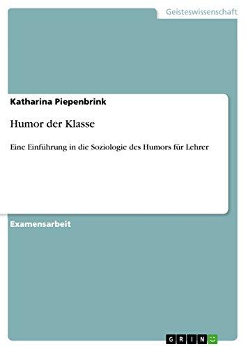 Humor der Klasse: Katharina Piepenbrink