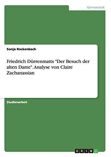 9783656479000: Friedrich Dürrenmatts