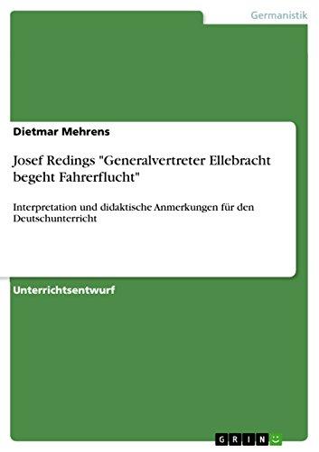 9783656479857: Josef Redings