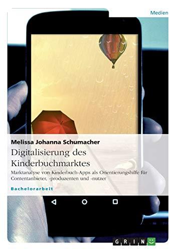 Digitalisierung des Kinderbuchmarktes: Melissa Johanna Schumacher