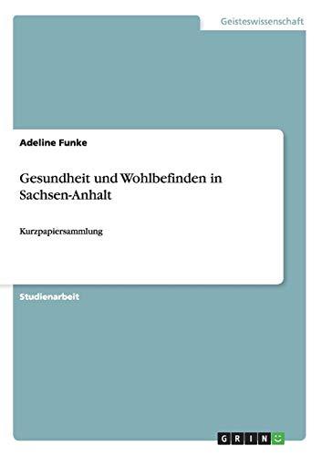 Gesundheit Und Wohlbefinden in Sachsen-Anhalt: Adeline Funke