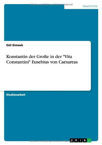 9783656492887: Konstantin der Große in der