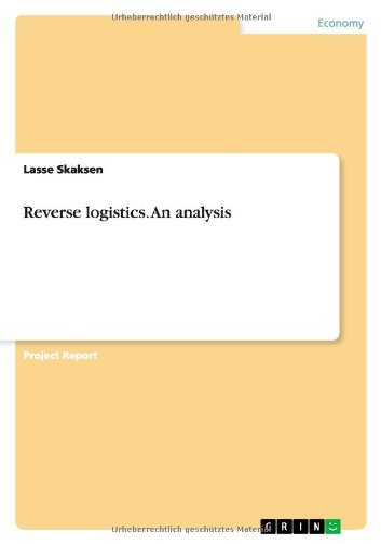 9783656495321: Reverse logistics. An analysis