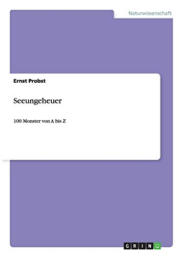 9783656503491: Seeungeheuer