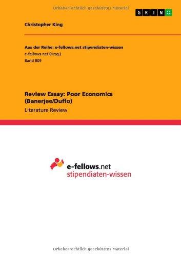 9783656510703: Review Essay: Poor Economics (Banerjee/Duflo)
