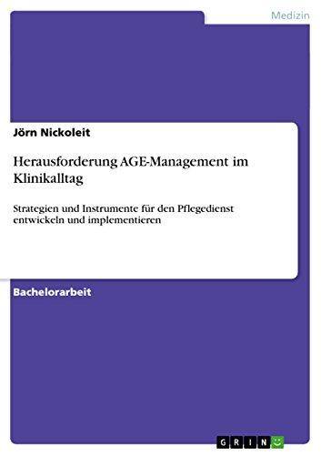 Herausforderung AGE-Management im Klinikalltag: Jörn Nickoleit