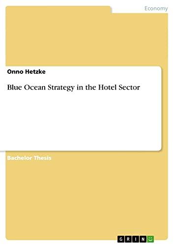 Blue Ocean Strategy in the Hotel Sector: Onno Hetzke