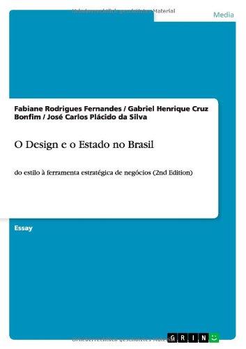 9783656537939: O Design E O Estado No Brasil