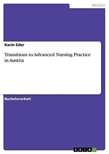 Transitions to Advanced Nursing Practice in Austria: Karin Eder