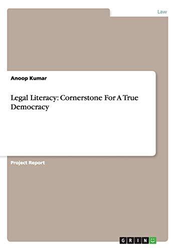 Legal Literacy: Anoop Kumar