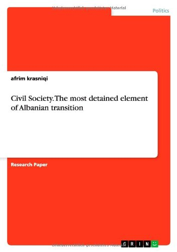 Civil Society. The most detained element of: krasniqi, afrim