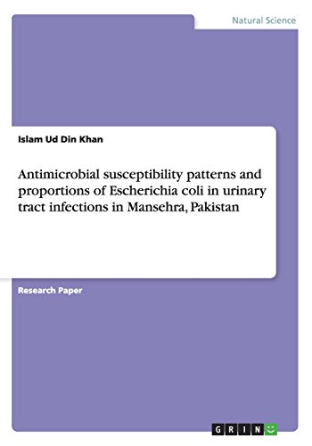 Antimicrobial Susceptibility Patterns and Proportions of Escherichia: Islam Ud Din