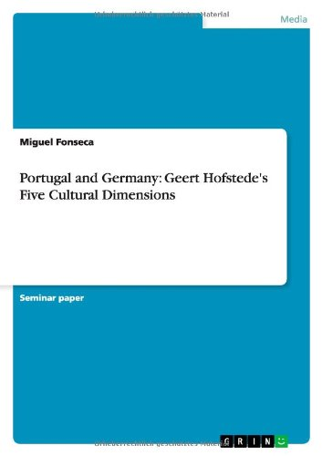 Portugal and Germany: Geert Hofstede's Five Cultural: Miguel Fonseca