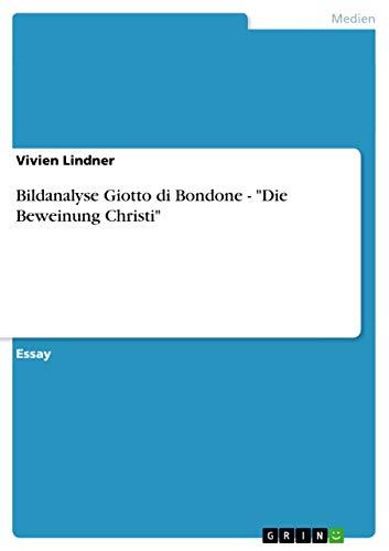 9783656602576: Bildanalyse Giotto Di Bondone -