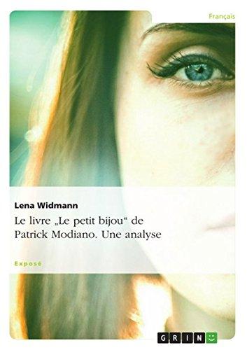 """Le livre """"Le petit bijou"""" de Patrick: Widmann, Lena"""