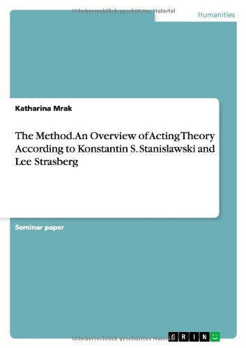9783656613916: The Method. An Overview of Acting Theory According toKonstantin S. Stanislawski and Lee Strasberg
