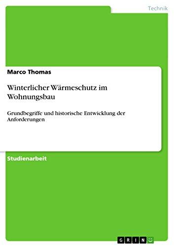 9783656619260: Winterlicher Wärmeschutz im Wohnungsbau (German Edition)