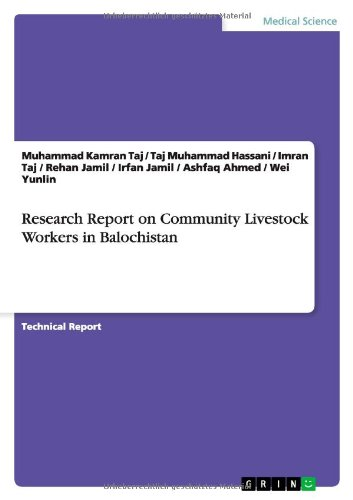 Research Report on Community Livestock Workers in: Jamil, Irfan; Jamil,