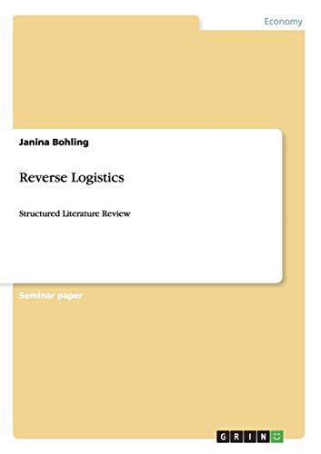 9783656626404: Reverse Logistics