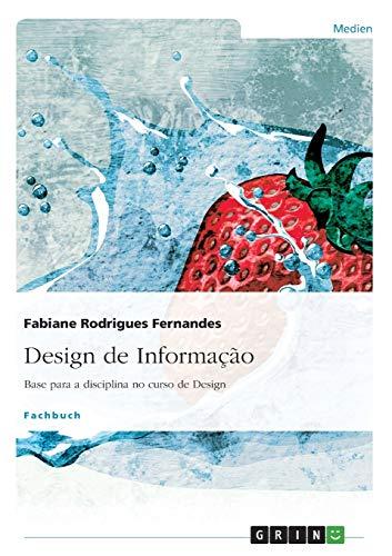 9783656655664: Design de Informação (Portuguese Edition)