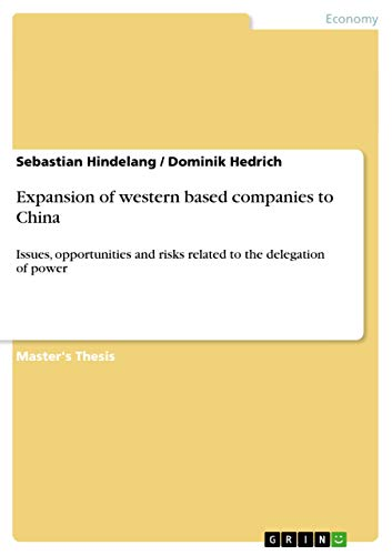 Expansion of western based companies to China: Sebastian Hindelang