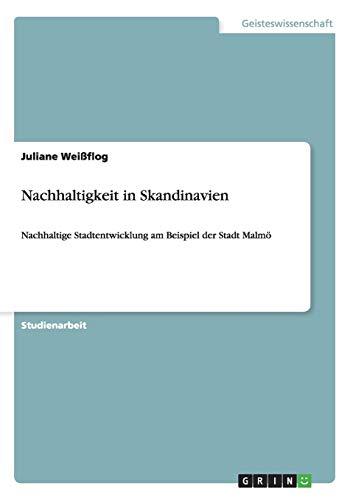 9783656677574: Nachhaltigkeit in Skandinavien