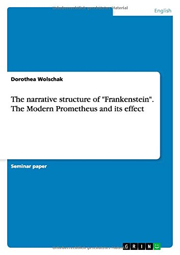 9783656689638: The Narrative Structure of
