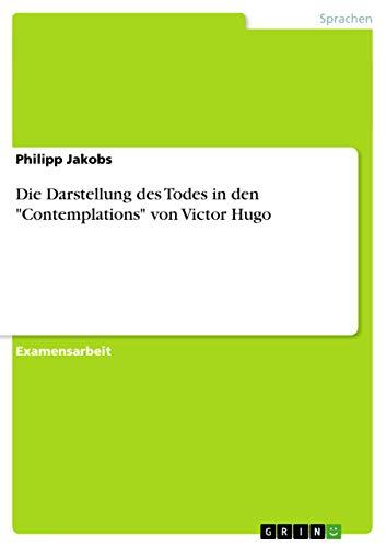 9783656710349: Die Darstellung Des Todes in Den