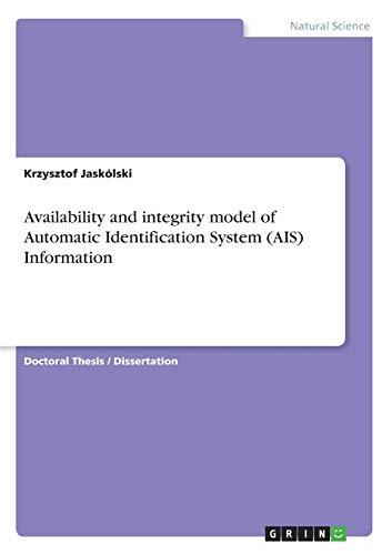 Availability and integrity model of Automatic Identification: Jaskà lski, Krzysztof