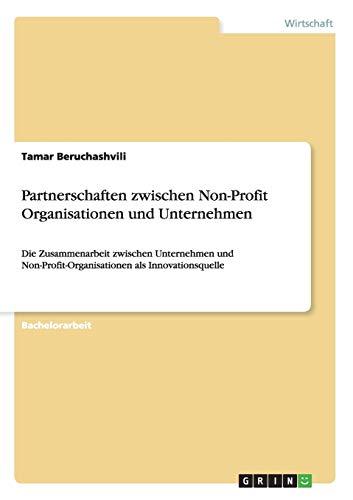 Partnerschaften zwischen Non-Profit Organisationen und Unternehmen: Tamar Beruchashvili