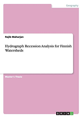 Hydrograph Recession Analysis for Finnish Watersheds: Rajib Maharjan
