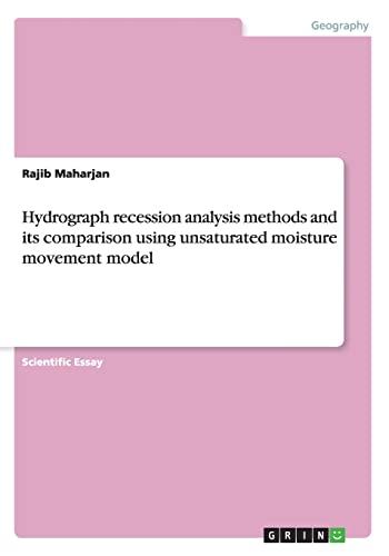 Hydrograph Recession Analysis Methods and Its Comparison: Rajib Maharjan