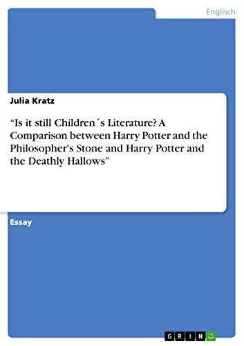 Is It Still Childrens Literature? a Comparison: Julia Kratz
