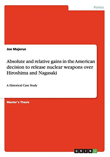 Absolute and relative gains in the American: Joe Majerus