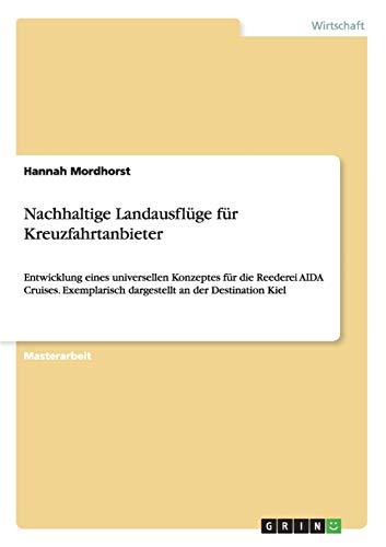 9783656836995: Nachhaltige Landausflüge für Kreuzfahrtanbieter (German Edition)
