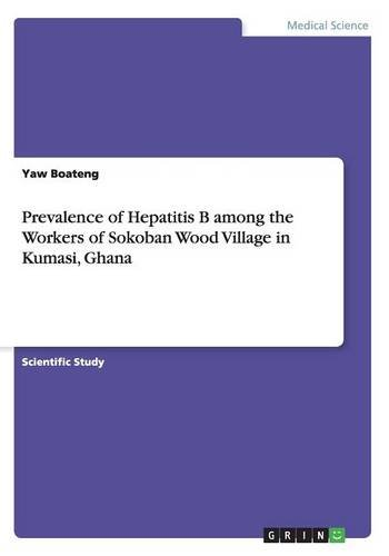 9783656841968: Prevalence of Hepatitis B among the Workers of Sokoban Wood Village in Kumasi, Ghana