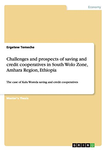 Challenges and prospects of saving and credit: Ergetew Temeche